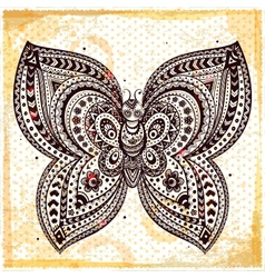 Beautiful butterflies seamless vector