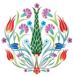 Oriental ottoman design degrade vector