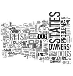 Animal chiropractor text word cloud concept vector