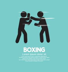Boxing eps10 vector