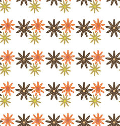 Flowers-pattern-retro-seamless-05 vector