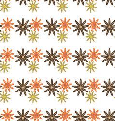 flowers-pattern-retro-seamless-05 vector image