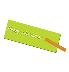 Message for the holiday clip vector