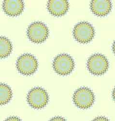 Seamless floral pastel pattern vector