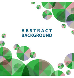 template abstract for wallpaper presentation vector image vector image
