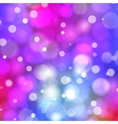 Abstract bokeh background brignt blurred lights vector