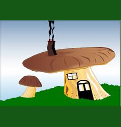 Fairy house vector