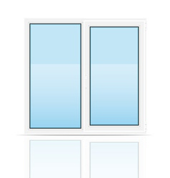 Plastic window 01 vector