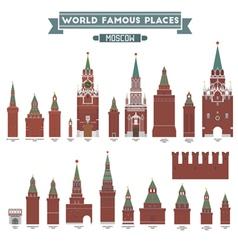 Moscow kremlin vector