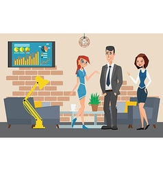 Business professional work Businesspeople or vector image