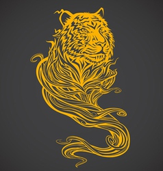 Tiger Spirit Light vector image