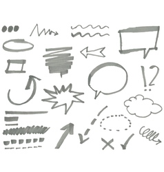 Marker elements vol 1 vector