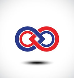 An attractive infinity symbol vector