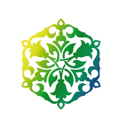 Arabic oriental ornament vector
