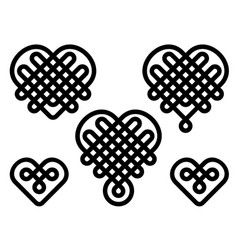 chinese knots vector image