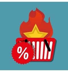Hot deal basket shop discount vector