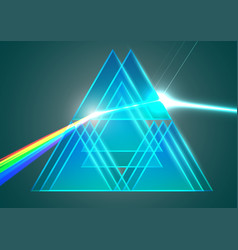 Prisms and refraction vector