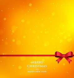 Orange xmas season background vector