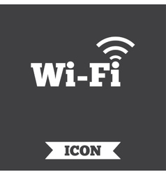 Free wifi sign wifi symbol wireless network vector