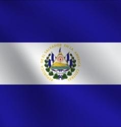 El salvador flag vector