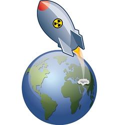 ICBM Launch vector image vector image