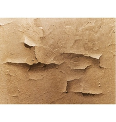 old cracked wall vector image vector image