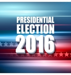 2016 usa presidential election poster vector