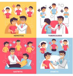 Diagnosis illnesses conceptual composition vector