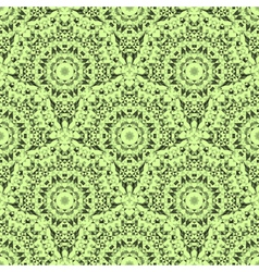 Abstract seamless light green geometric pattern vector