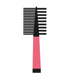 Brush makeup product isolated icon design vector