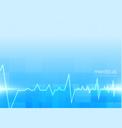 background for healthcare and medical science vector image vector image