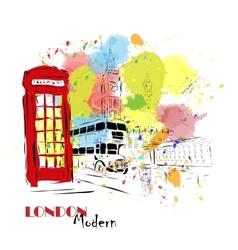 European capital London vector image