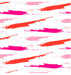 paint splash brushstrokes seamless pattern vector image