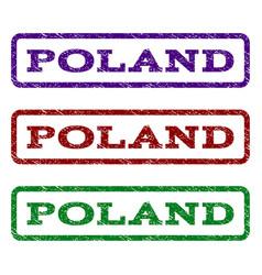 Poland watermark stamp vector