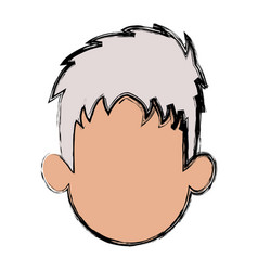 Portrait man male avatar people vector