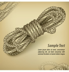 rope color background 10 v vector image