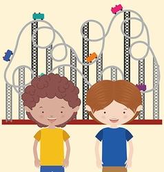 Childrens entertainment vector