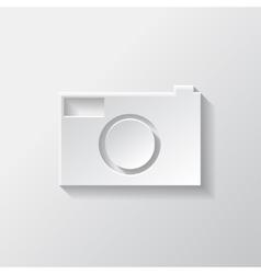 Photo camera icon Photography vector image vector image