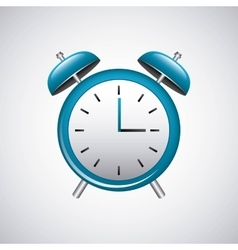 alarm time watch isolated icon vector image