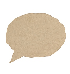 Blank empty white speech bubbles paper collection vector