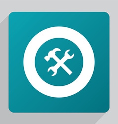 flat repair icon vector image