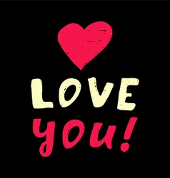 I love you5 vector