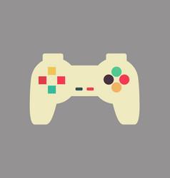 joystick isolated retro gamepad vintage video vector image vector image