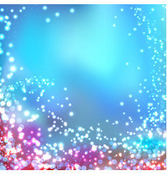modern blurred abstract glittering christmas vector image vector image