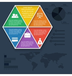Teamwork social infographic diagram presentation vector