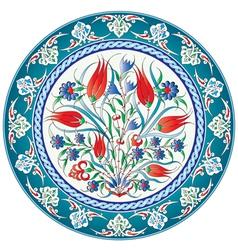 Oriental ottoman design twenty five version vector