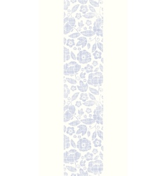 Purple textile flowers texture vertical seamless vector