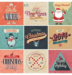 Christmas set2 vector