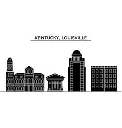usa kentucky louisville architecture city vector image vector image