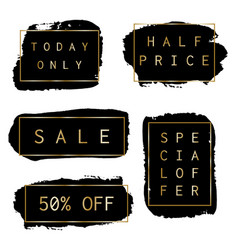 sale banners collection vector image